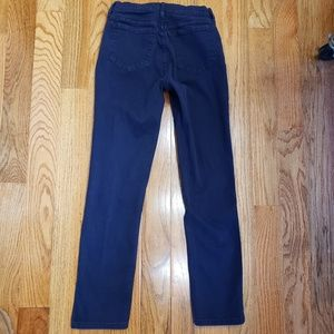 NYDJ Jeans - Lift tuck Straight leg dark denim jeans pants 4P